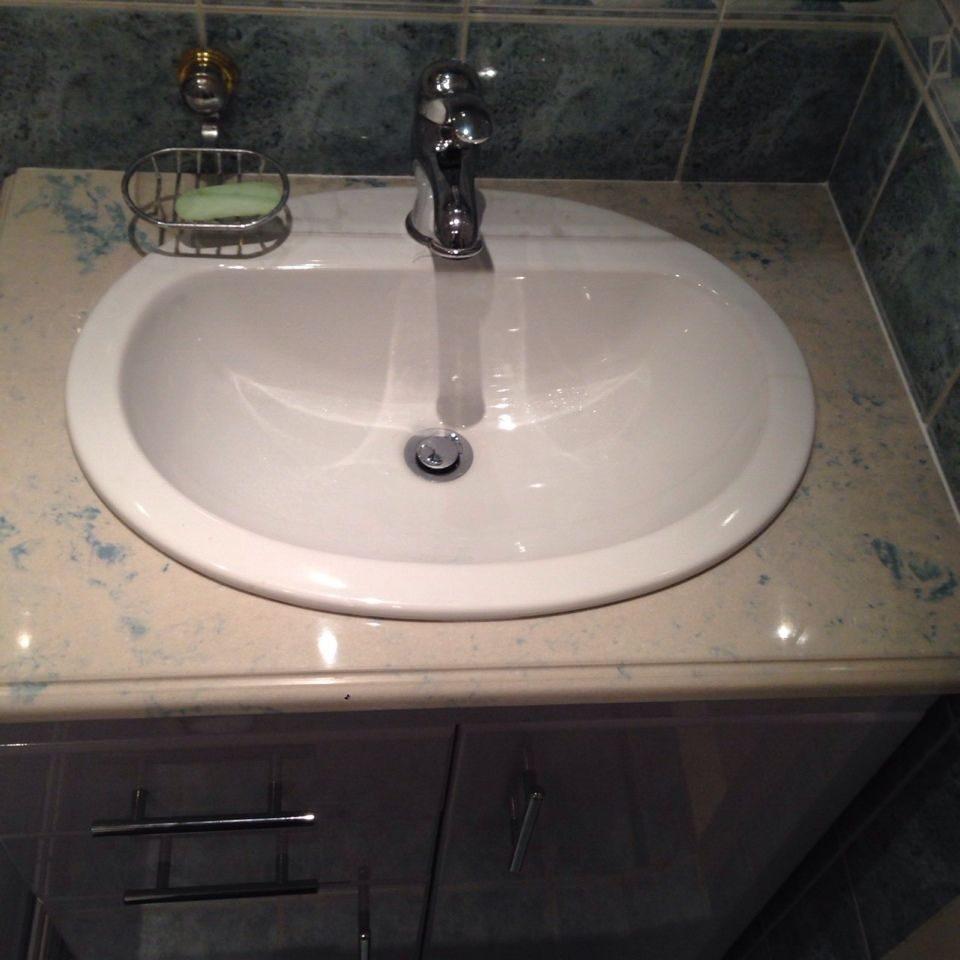 столешница для ванной комнаты под раковину в спб купить